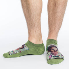 Men's Bill Nye Ankle Socks - Good Luck Sock