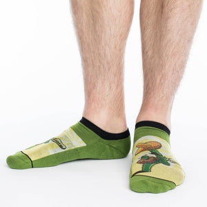 Men's Cactus Guitar Ankle Socks
