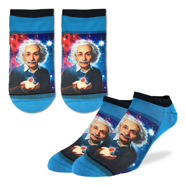 Men's Albert Einstein Ankle Socks