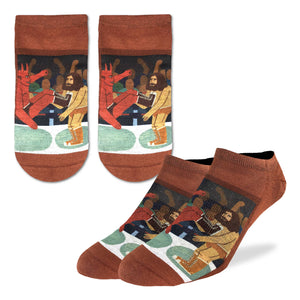 Men's Wrestling Good vs. Evil Ankle Socks