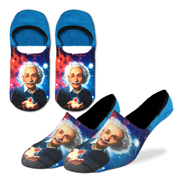 Men's Albert Einstein No Show Socks