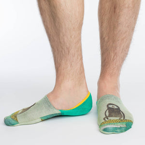 Men's Surfing Sloth No Show Socks