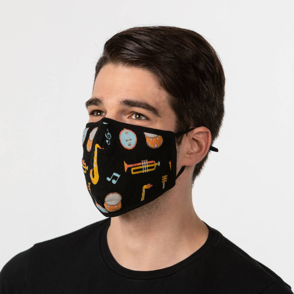 Musical Instruments Mask
