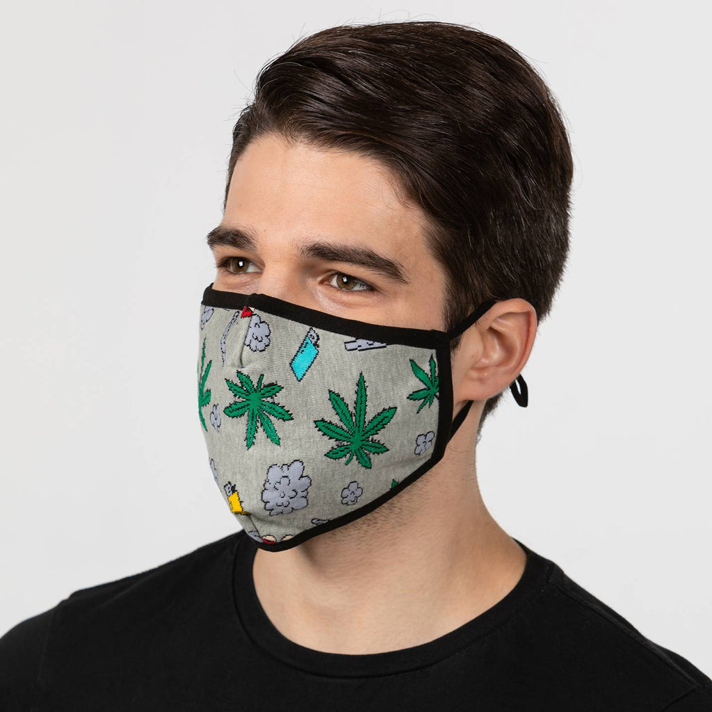 Stoned Marijuana Mask