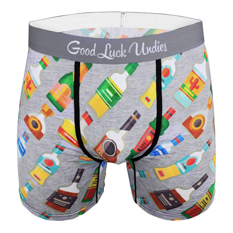 Men's Liquor Bottles Underwear