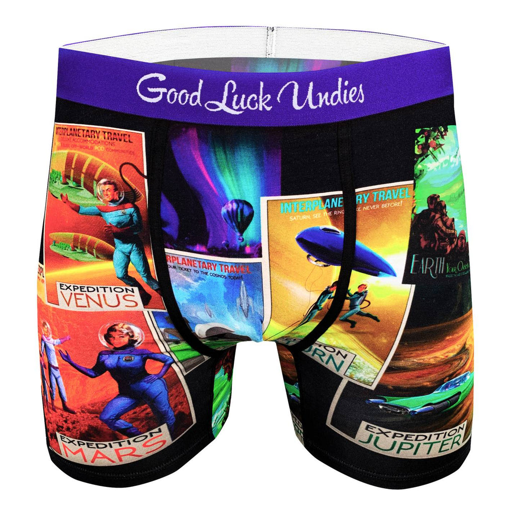 Men's Space Tourism Underwear