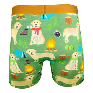 Men's Camping Labrador Retriever Underwear