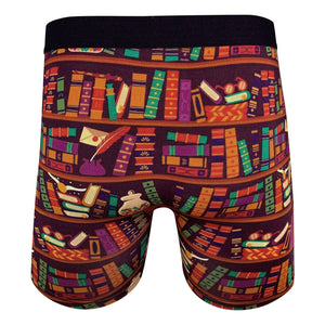 Men's Library Books Underwear