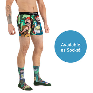 Men's Cheech & Chong On Couch Underwear