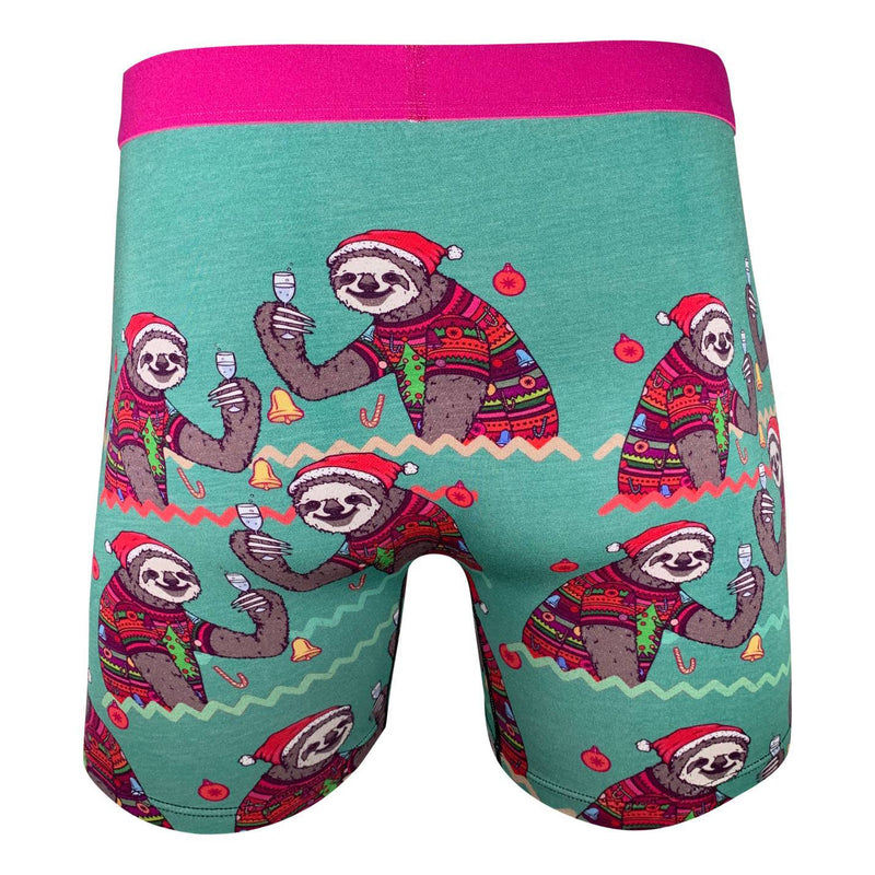Men's Christmas Sloths Undies