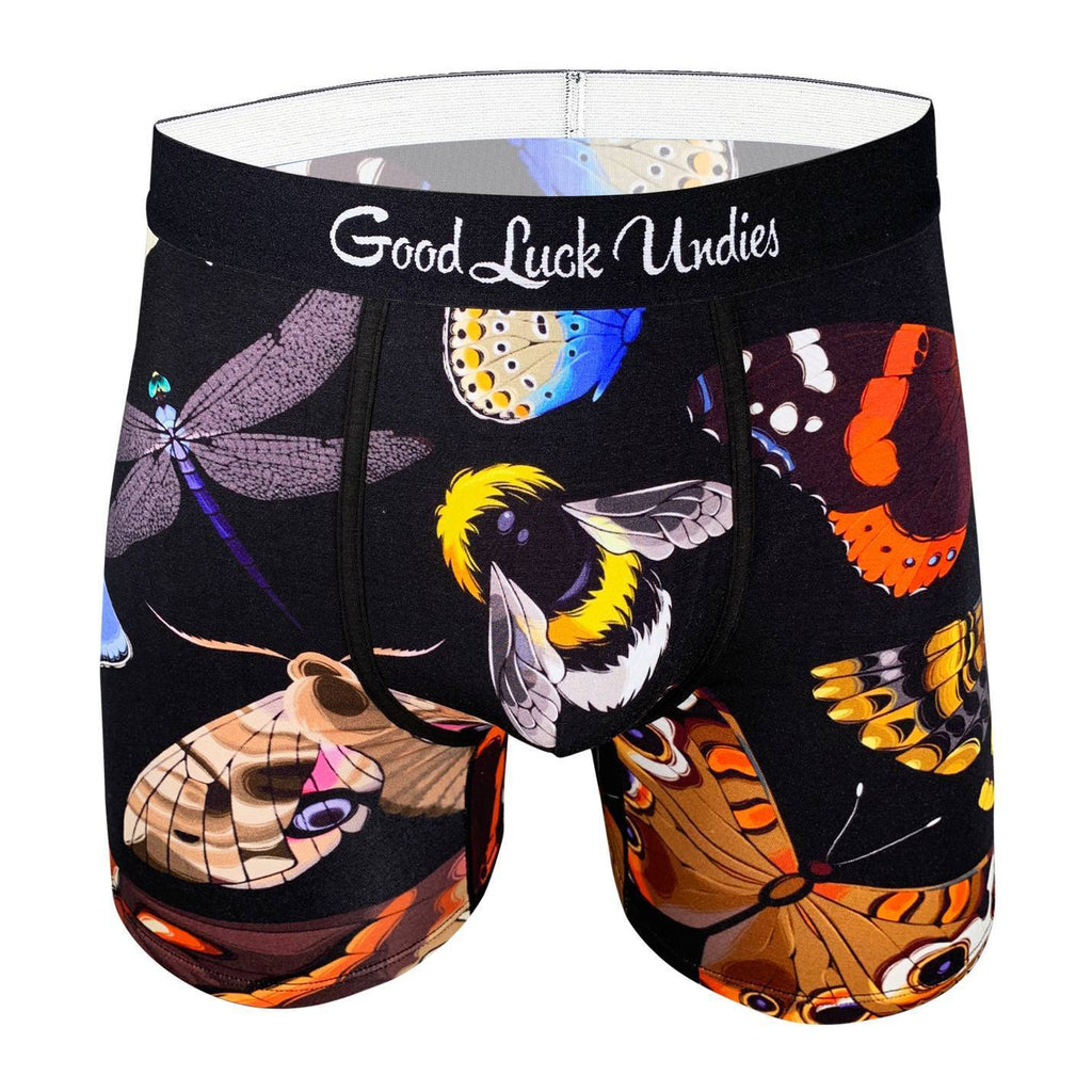 Men's Flying Insects Underwear
