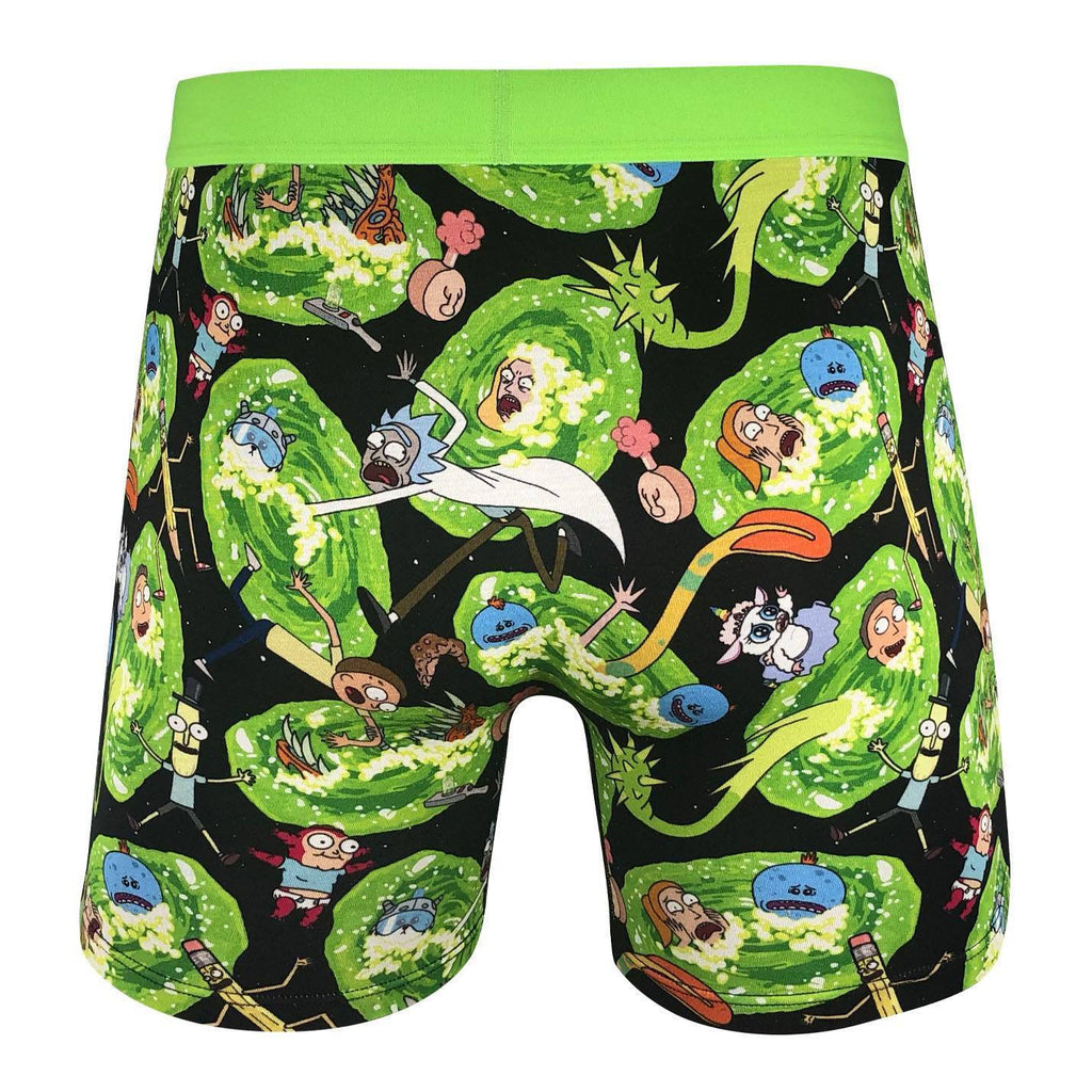 Men's Rick and Morty Portals Underwear