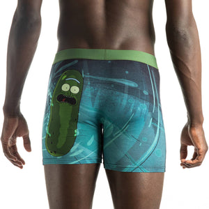 Men's Pickle Rick Sewer Escape Underwear