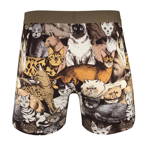 Men's Social Cats Underwear