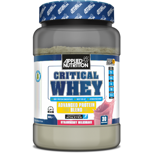 Applied nutrition critical whey protein chocolate strawberry vanilla Lancaster