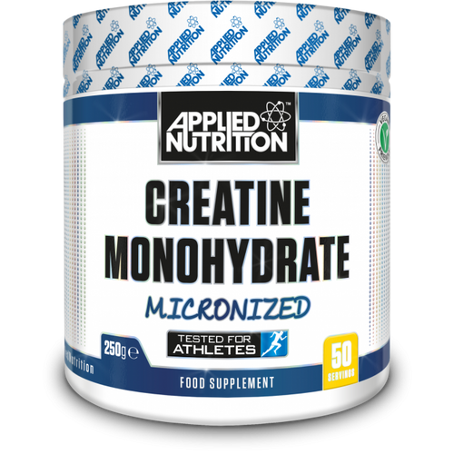 Applied Nutrition Creatine Monohydrate Supplement Micronized 250mg 500mg