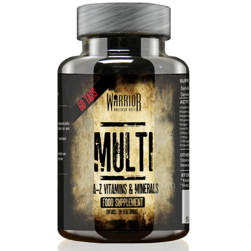 Warrior Nutrition Multi Multivitamin vitamin supplement capsules minerals