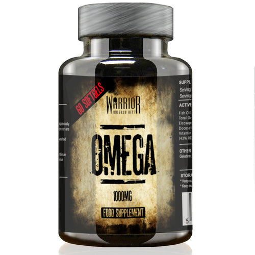 Warrior Omega oils vitamin soft gel capsules supplement
