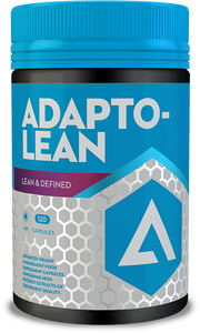 Adapt Nutrition Adaptolean supplement capsules 120 caps. Lean and Defined Thermobolic Matrix