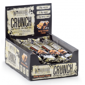 Warrior Crunch Protein Bar Supplement Healthy snack Lancaster Lancashire southport white chocolate coconut peanut butter
