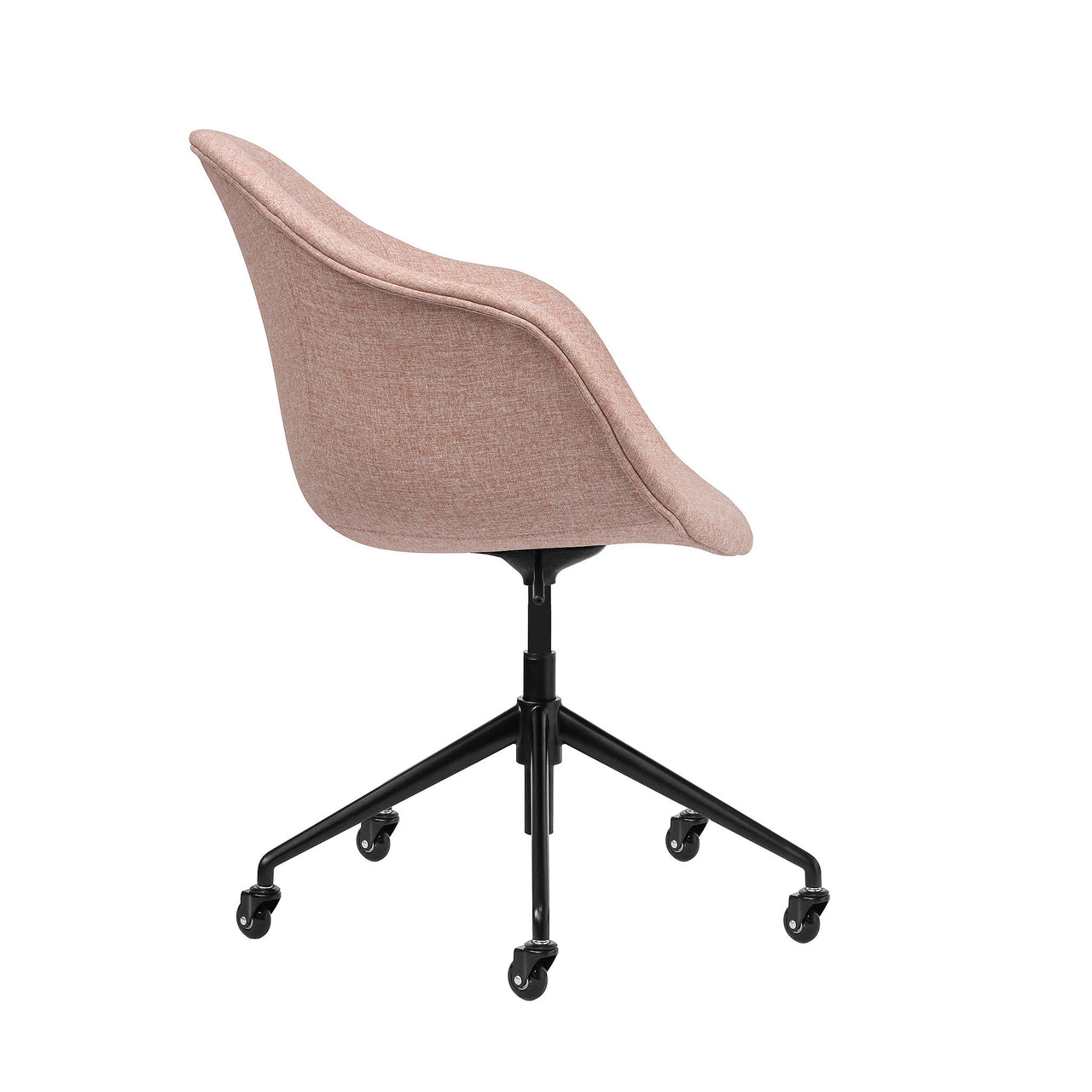 Astoria Office Chair (Coral Pink)