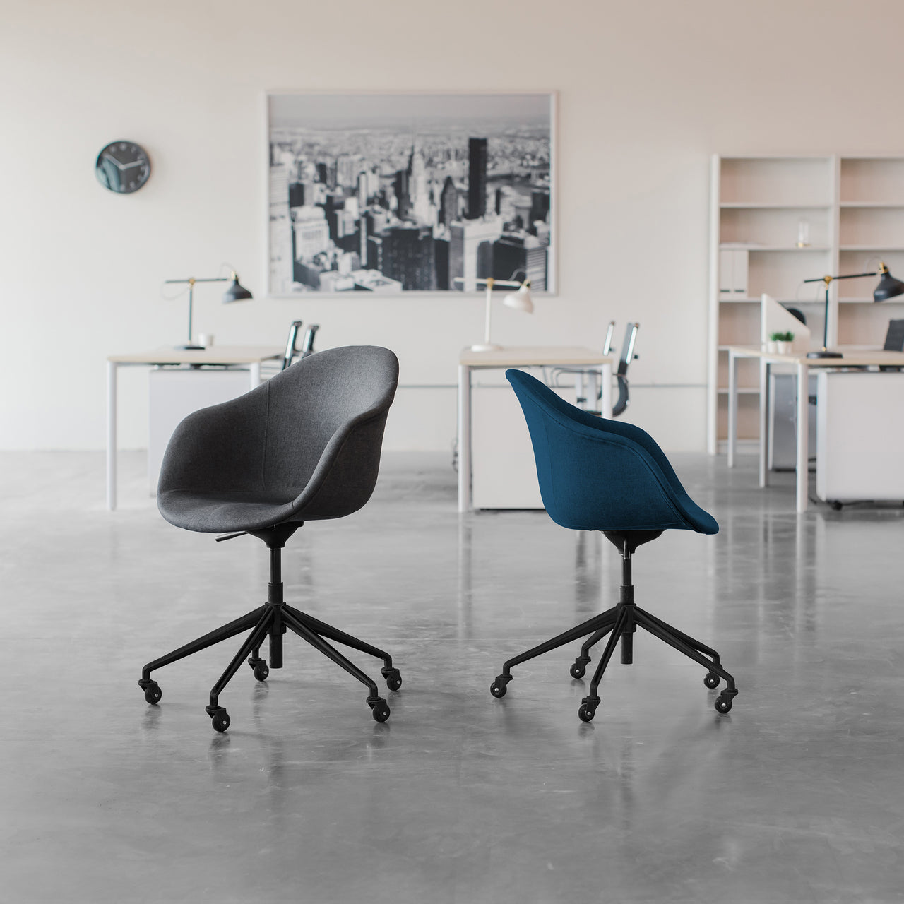 Astoria Office Chair (Charcoal)