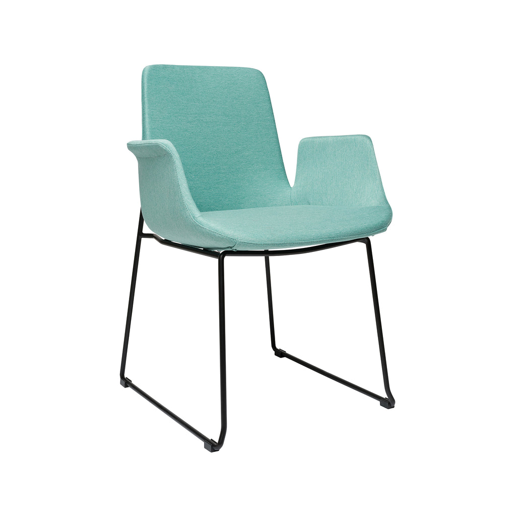 Brooklyn Arm Chair - Seafoam Green
