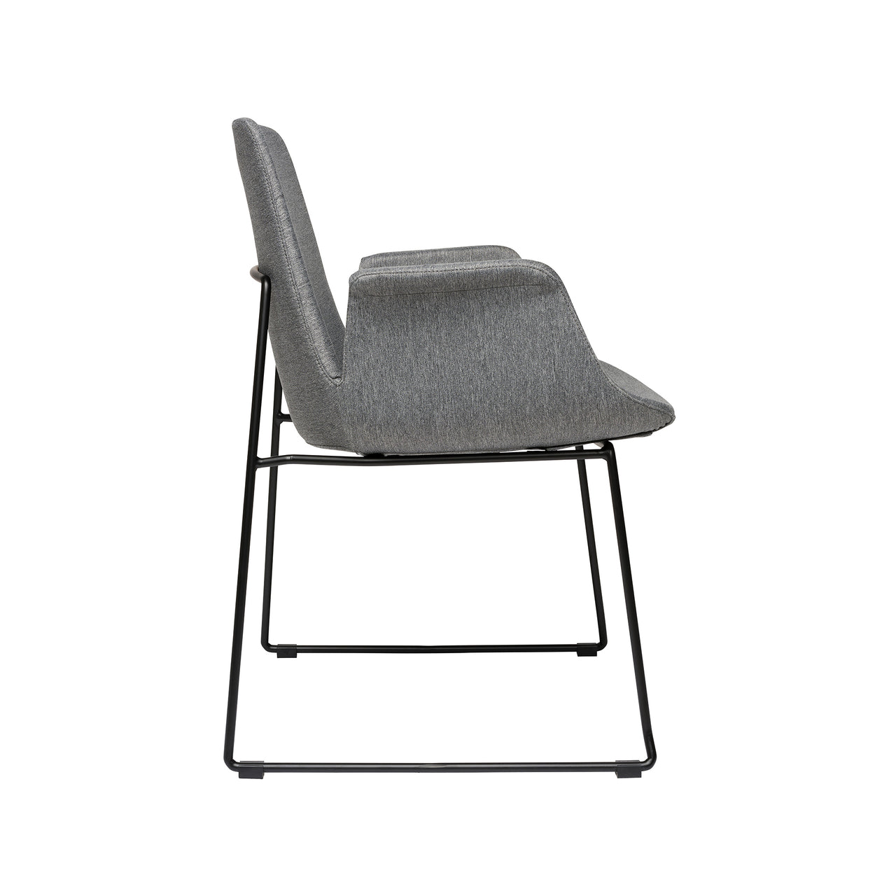 Brooklyn Arm Chair (Light Grey)
