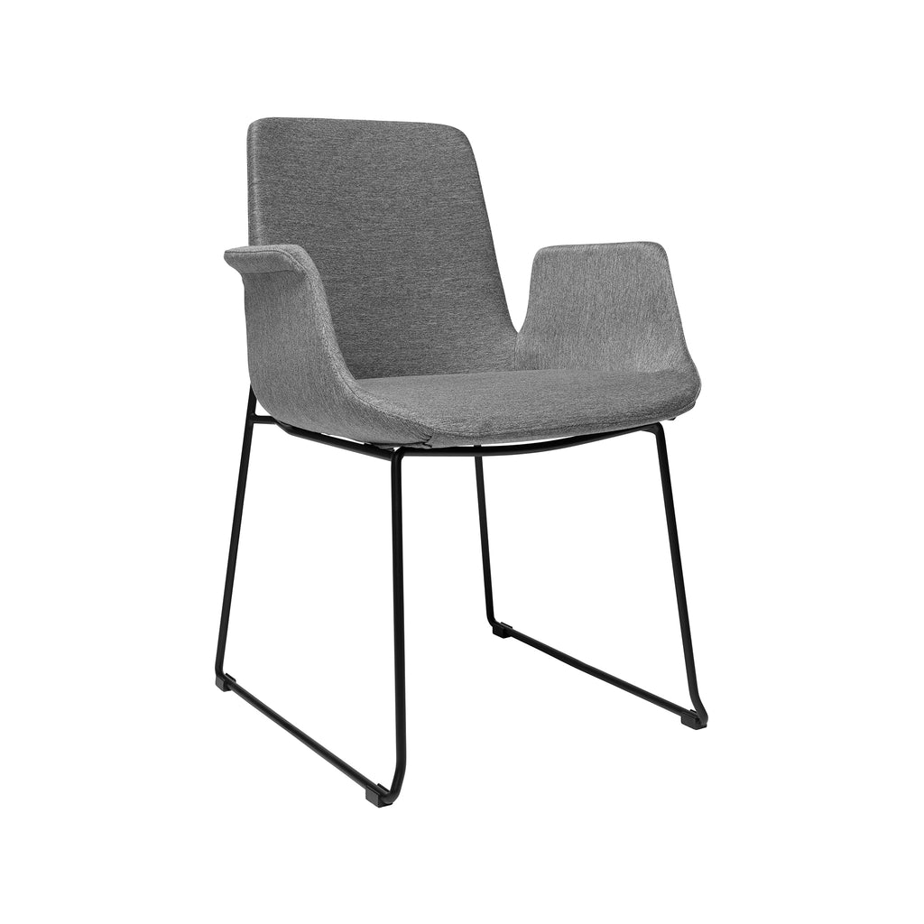 Brooklyn Arm Chair - Light Grey