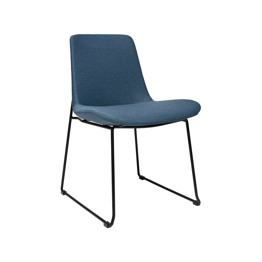 Brooklyn Side Chair - Dark Blue
