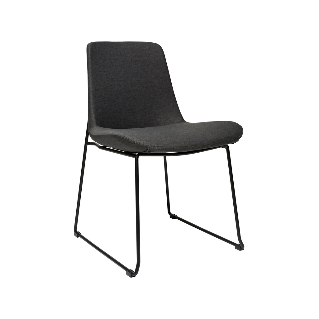 Brooklyn Side Chair - Dark Grey
