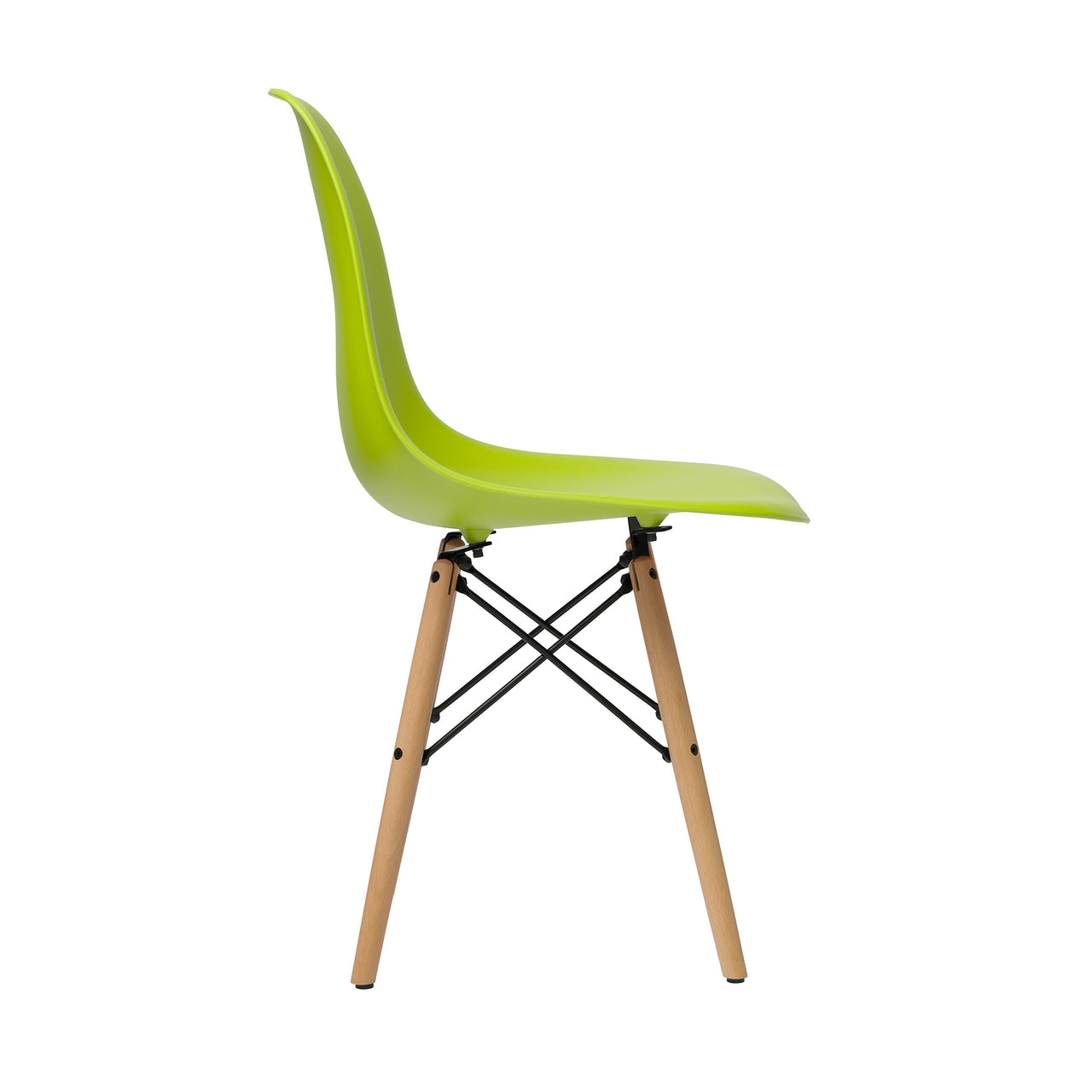 Chelsea DSW Side Chairs - Set of 2 (Light Green)