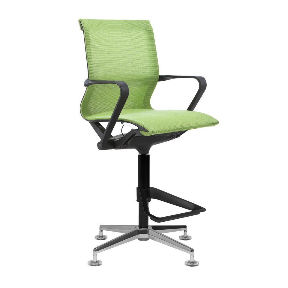 Empire Mesh Drafting Chair (Green)