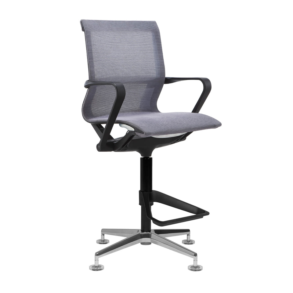 Empire Mesh Drafting Chair (Grey)
