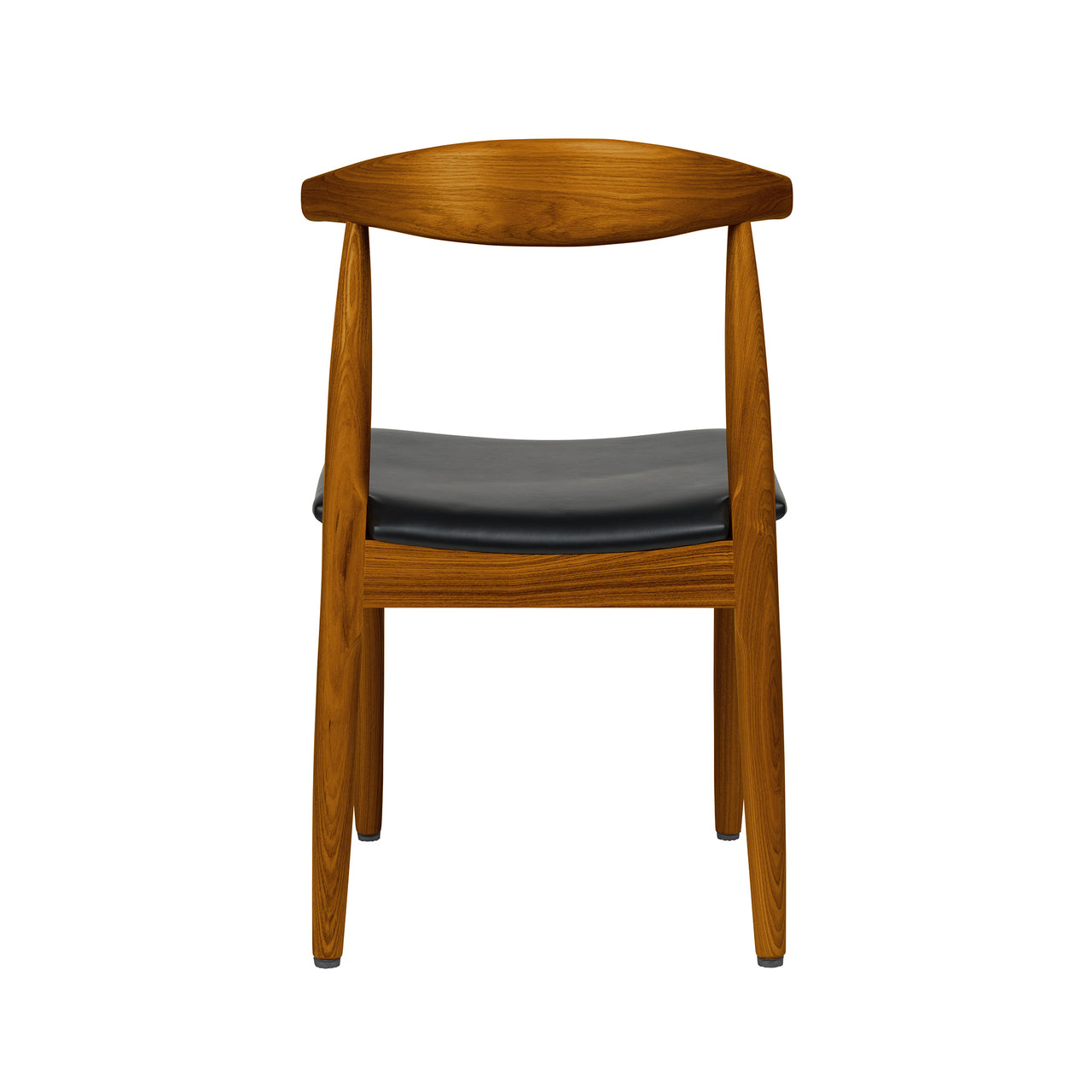 Kennedy Elbow Chair (Walnut/Italian Leather)