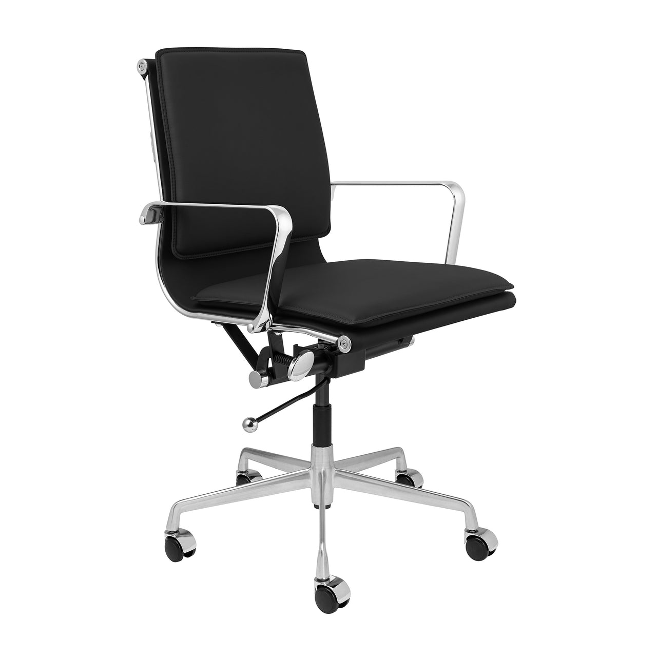 Lexi Soft Pad Office Chair (Black)