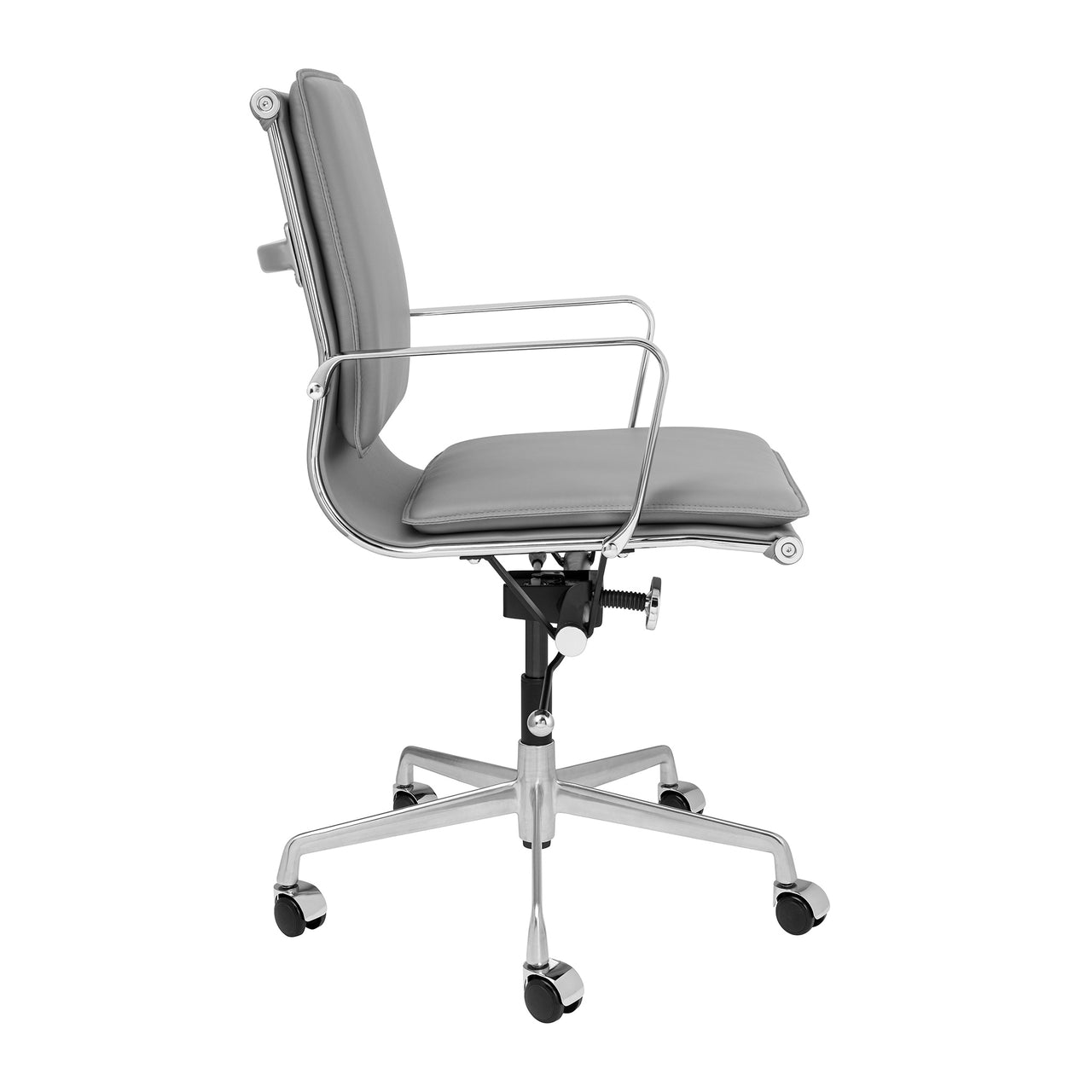 Lexi Soft Pad Office Chair (Grey)