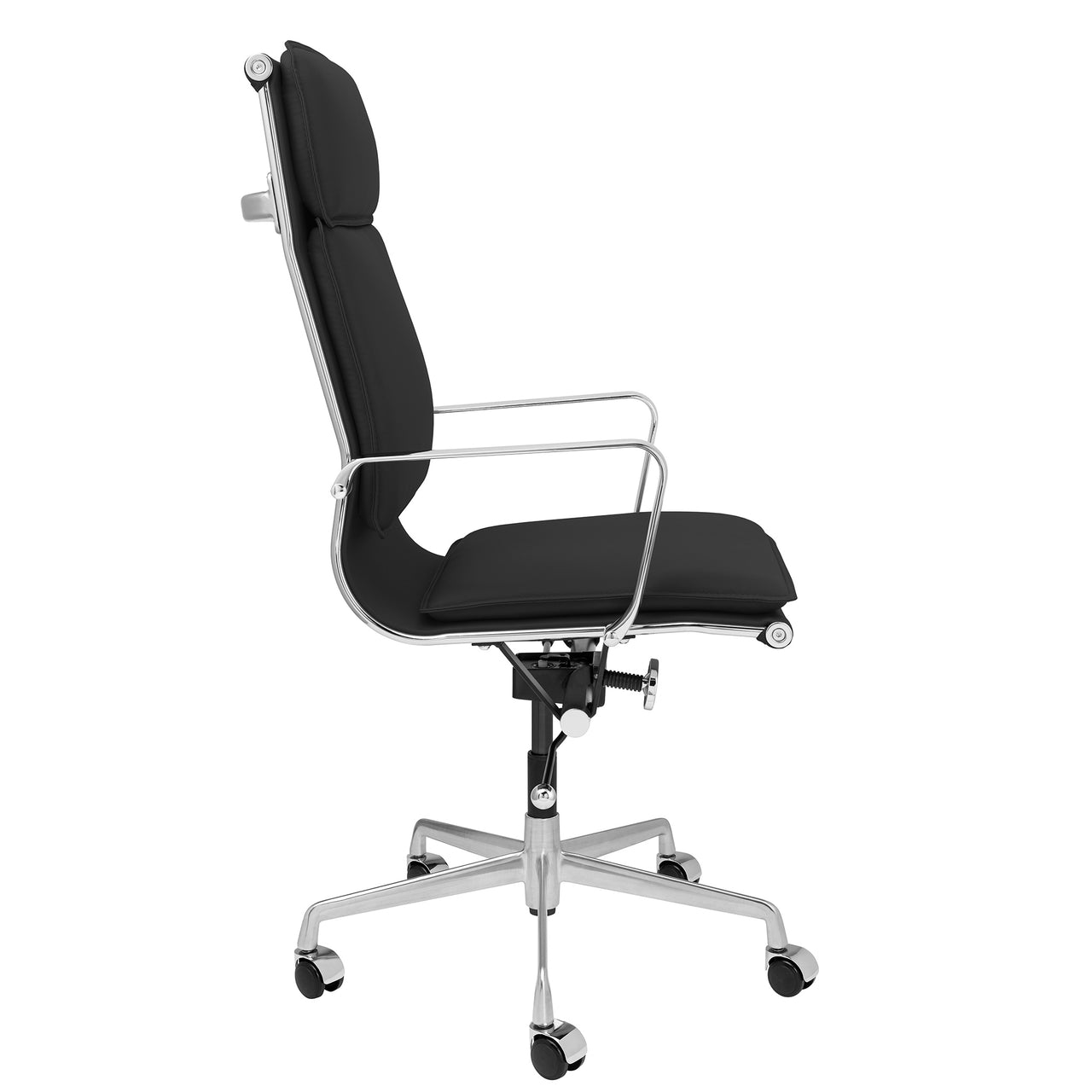 Lexi Tall Back Soft Pad Office Chair (Black)