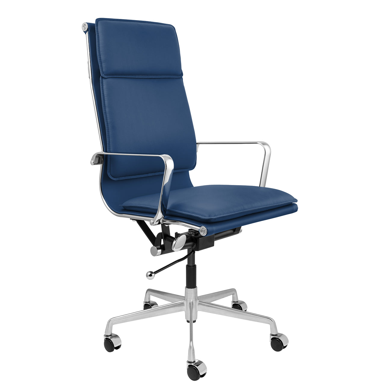 Lexi Tall Back Soft Pad Office Chair (Blue)
