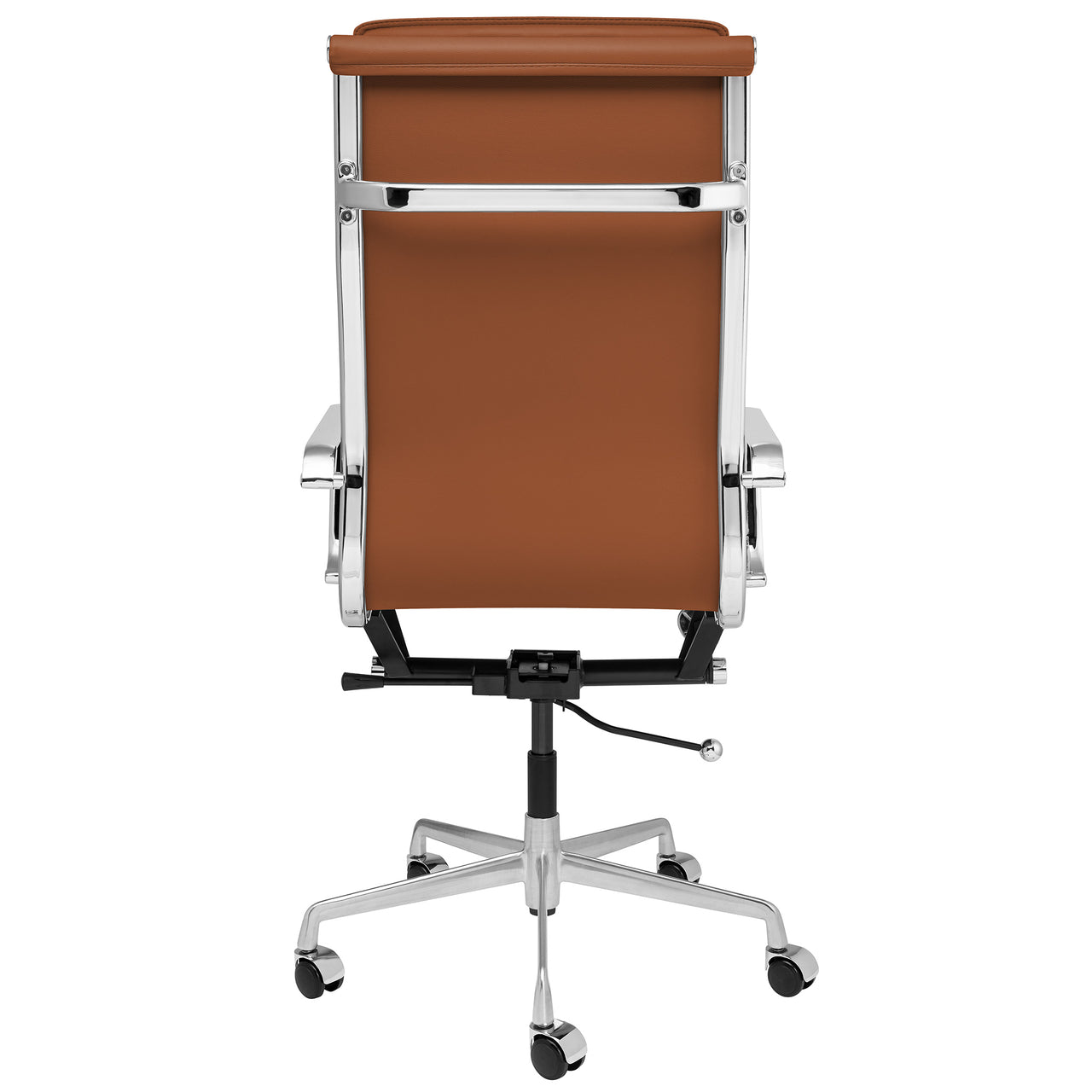SHIPS OCTOBER 16TH - Lexi Tall Back Soft Pad Office Chair (Brown)
