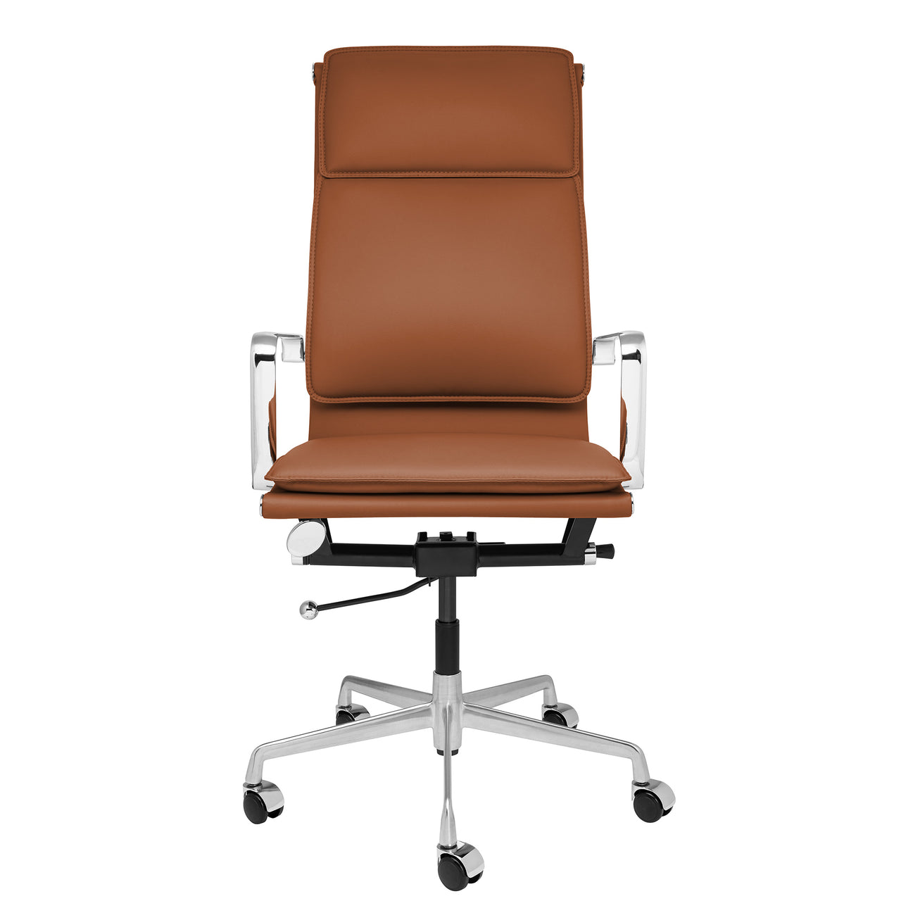 SHIPS MARCH 9TH - Lexi Tall Back Soft Pad Office Chair (Brown)