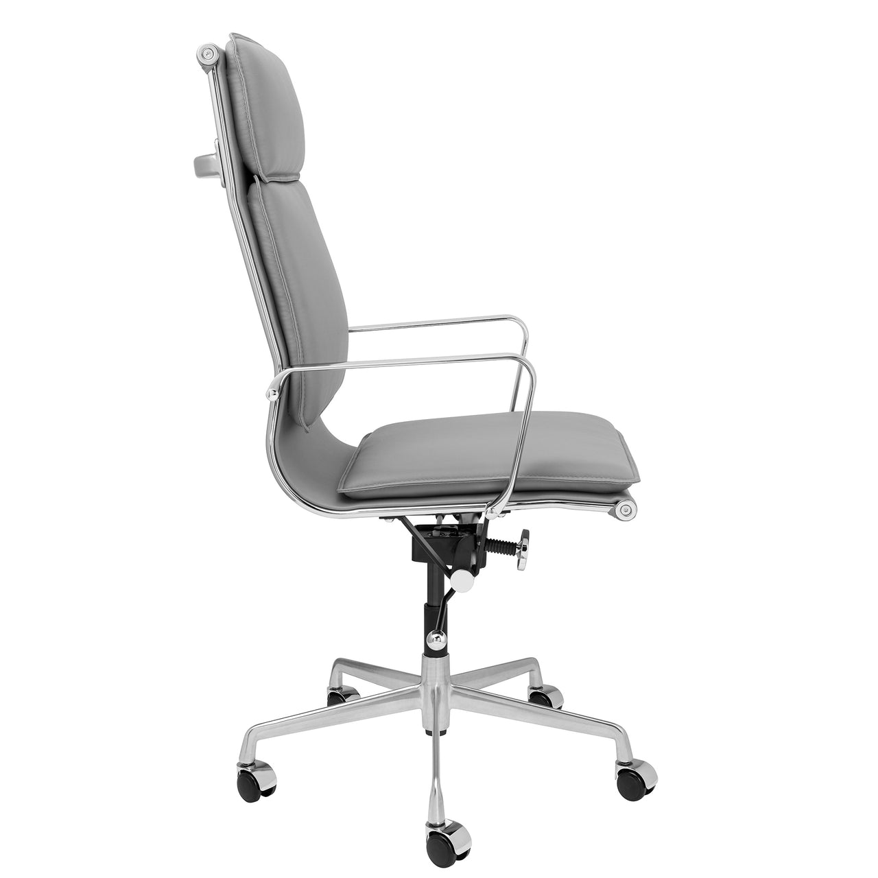 Lexi Tall Back Soft Pad Office Chair (Grey)