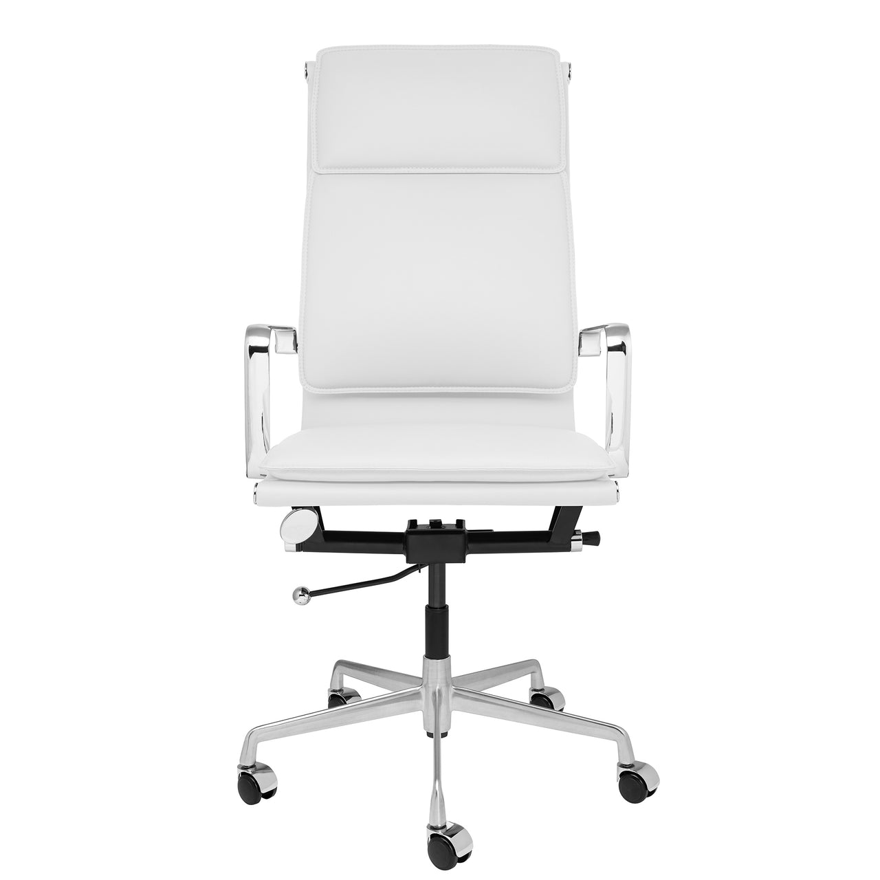 Lexi Tall Back Soft Pad Office Chair (White)