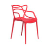 Set of 2 - Masters Entangled Chair (Red)