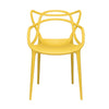 Set of 2 - Masters Entangled Chair (Yellow)