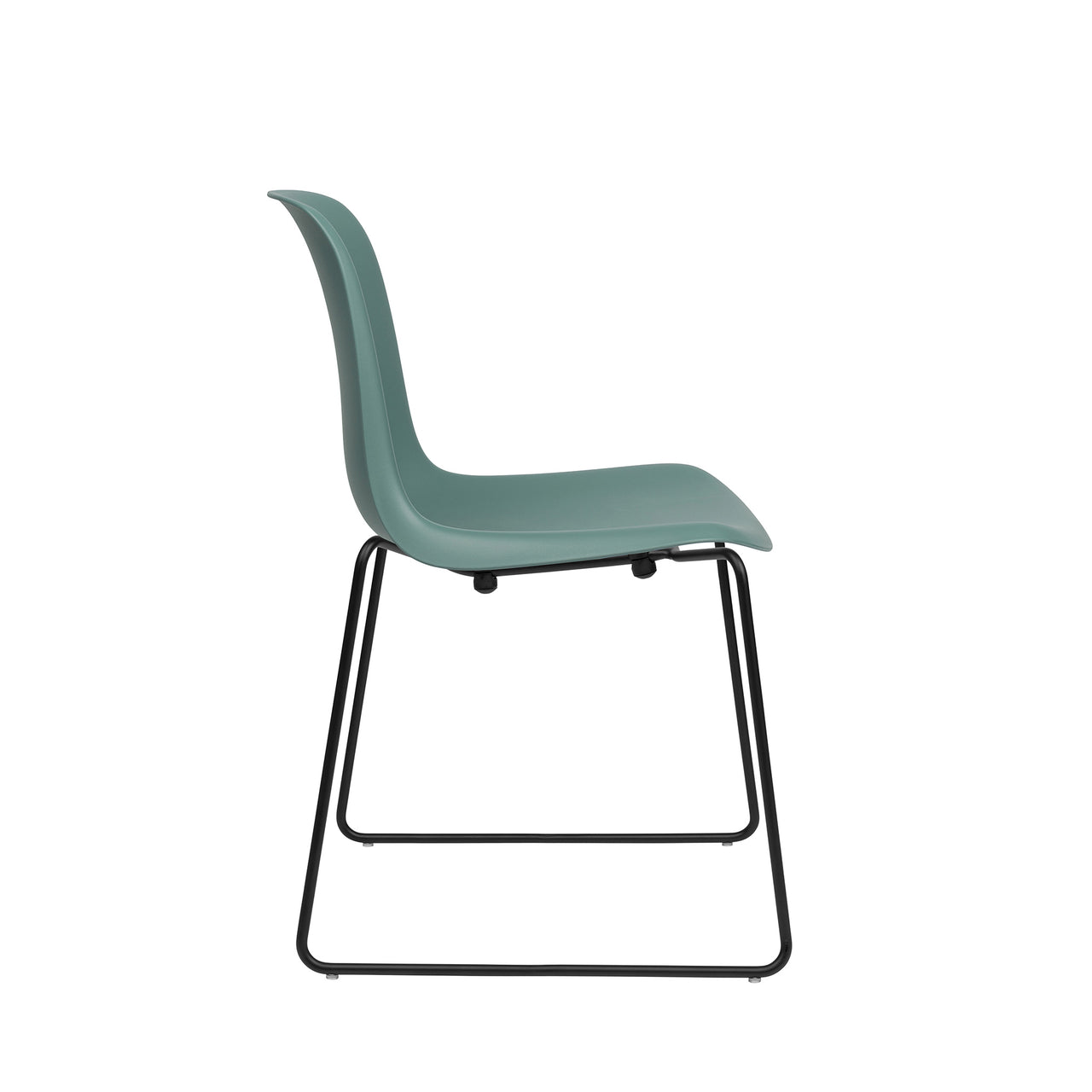 Murray Stackable Side Chairs, Set of 2 (Teal)