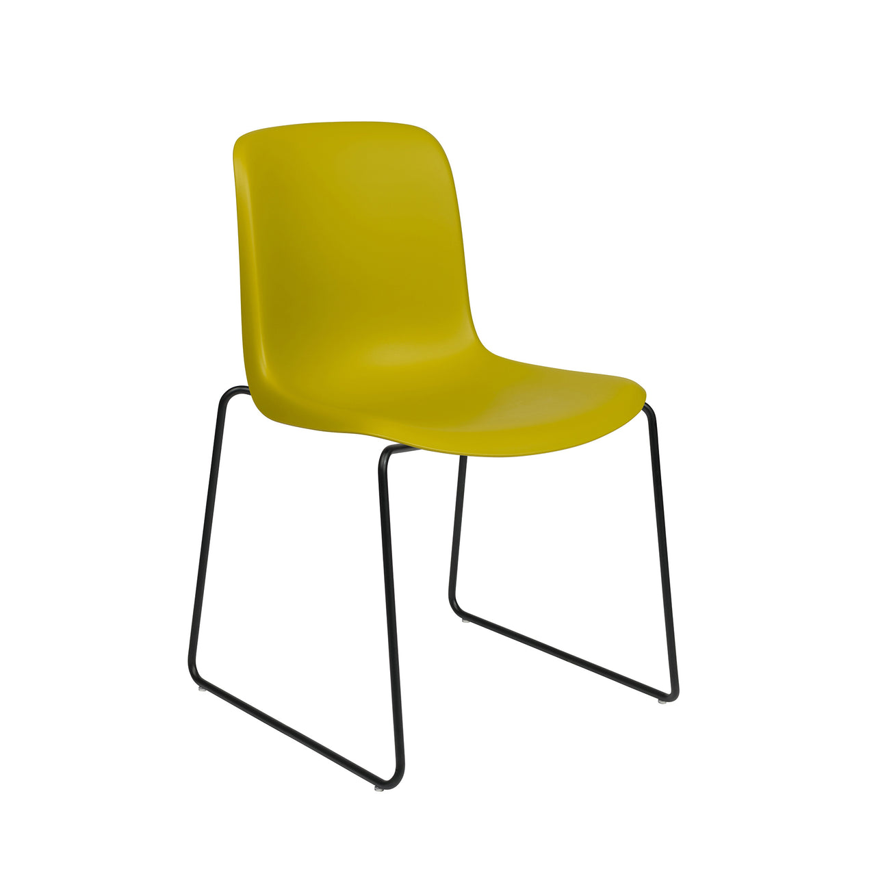 Murray Stackable Side Chairs, Set of 2 (Yellow)
