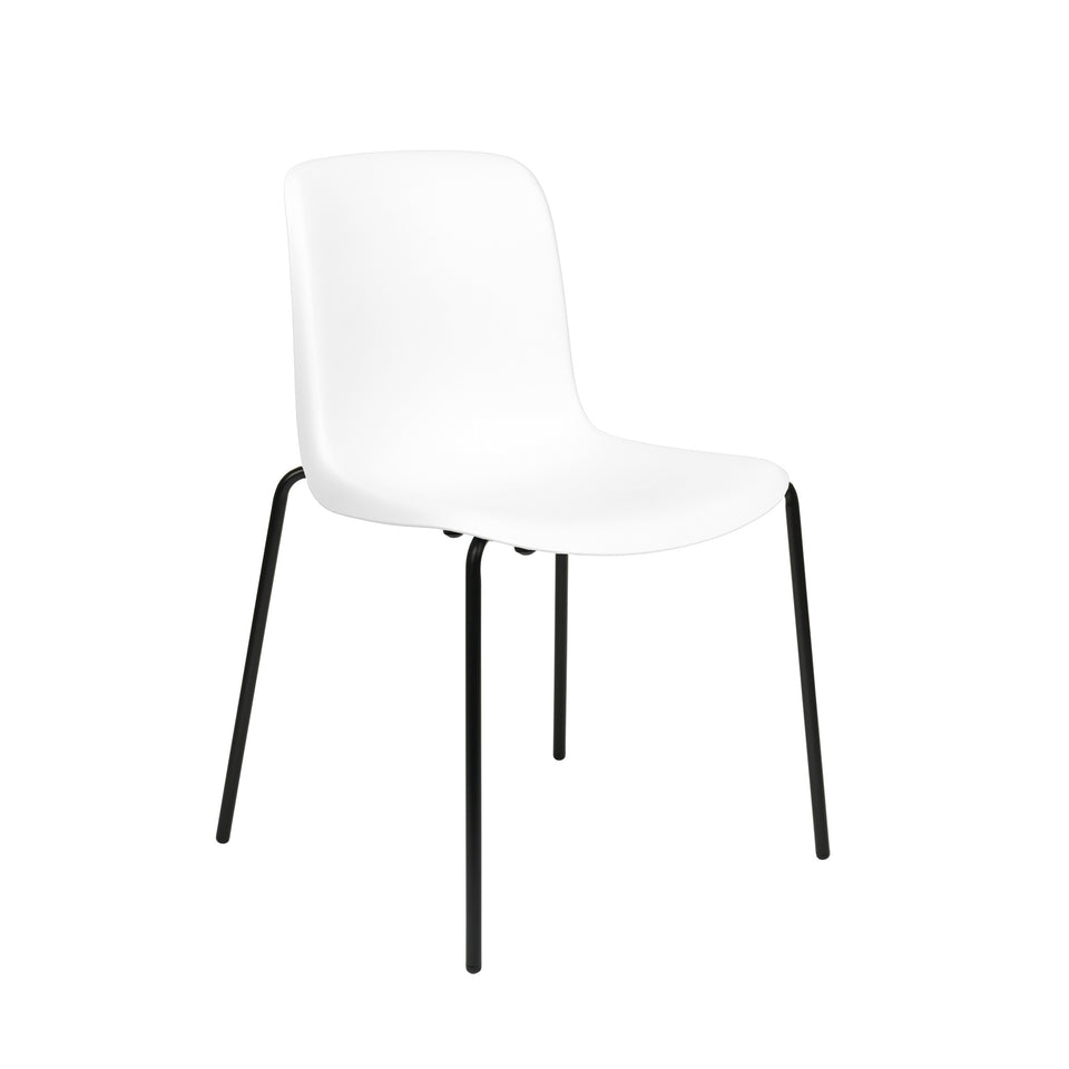 Murray Side Chairs, 4-Leg Base, Set of 2 (White)