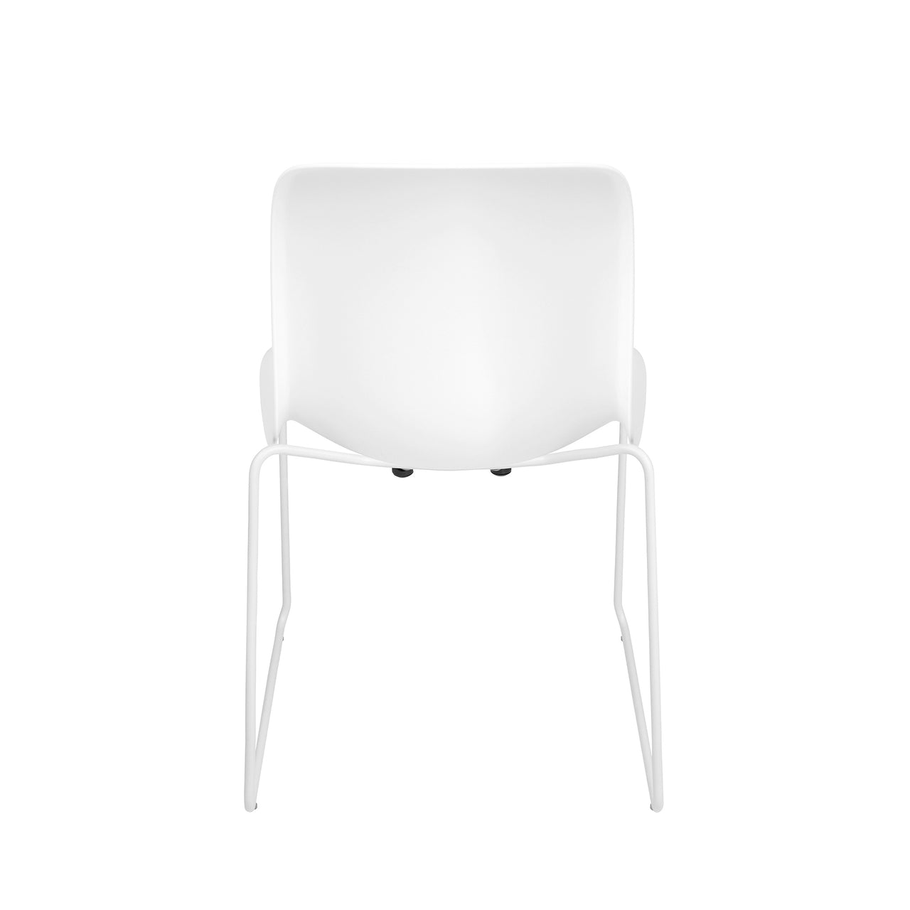 Murray Stackable Side Chairs, Set of 2 (White)