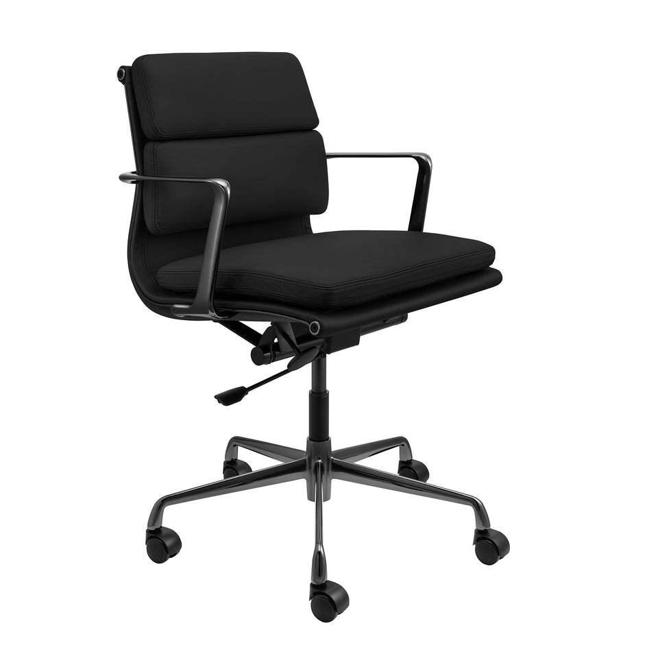 SOHO Pro Soft Pad Management Chair (Black/Gunmetal Limited Edition)